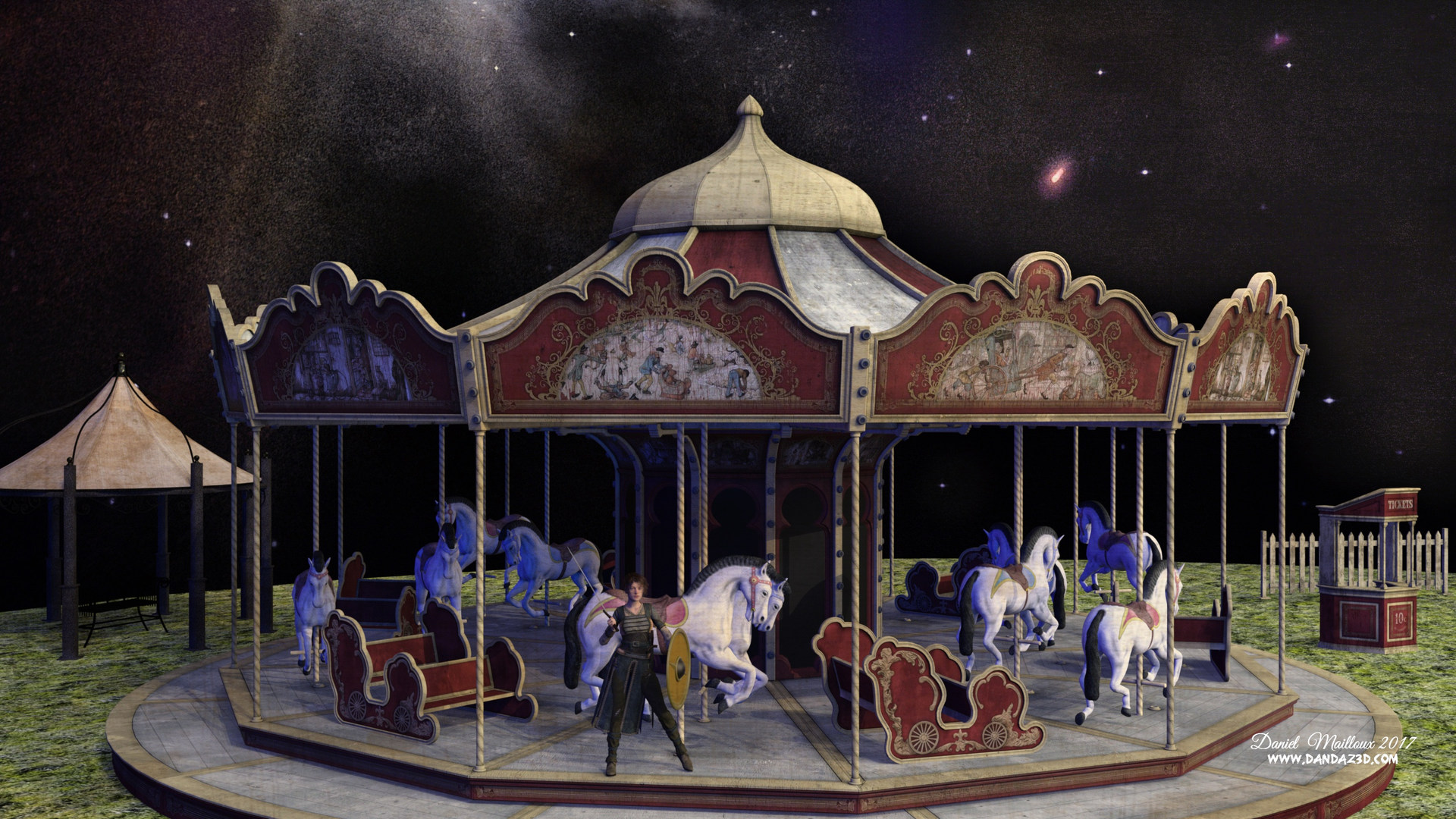 Carousel Night fantasy
