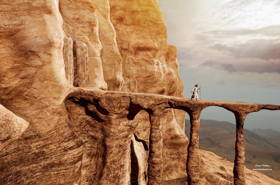 magic cliff - The crossing