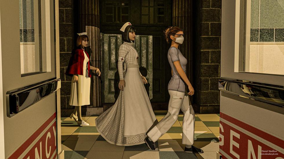 nurses through times