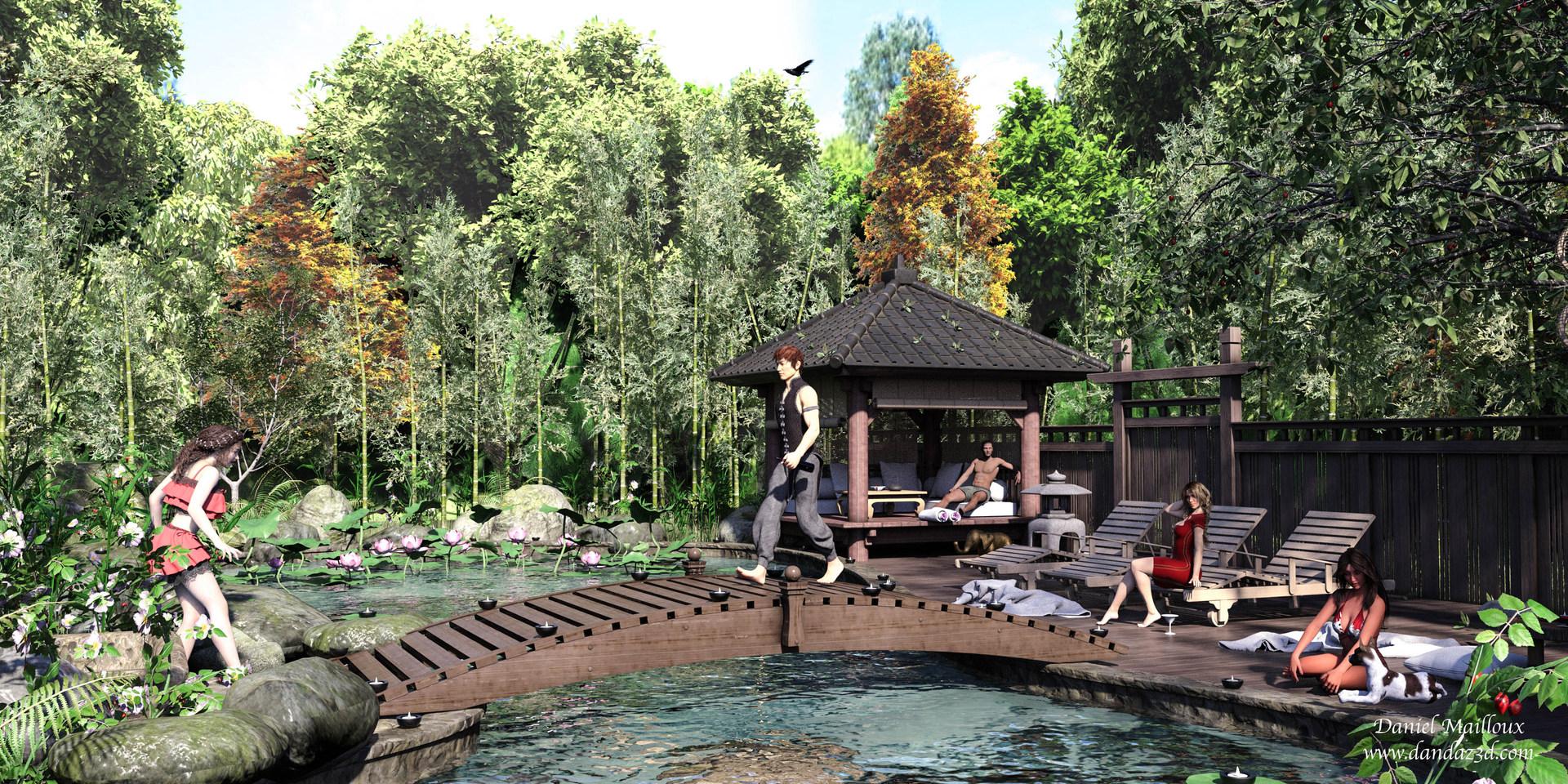 oriental breeze pool