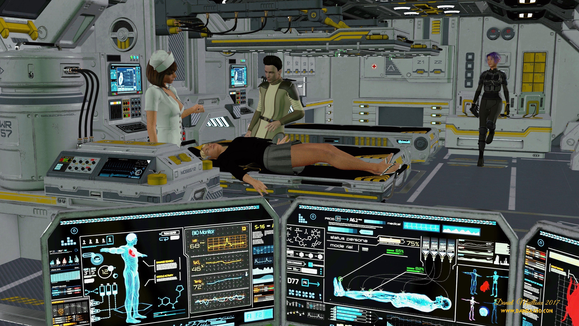 Time travel hospital
