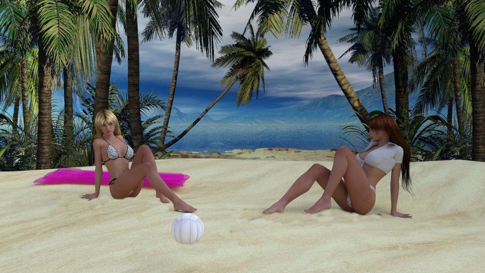 Relaxing in Punta Cana
