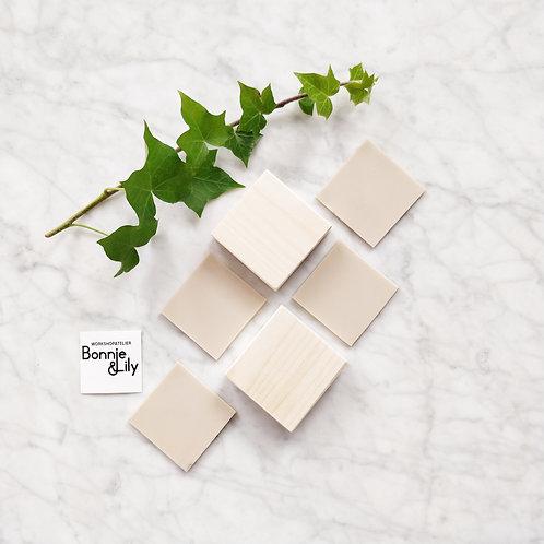 Navulpakket 4 vierkante stempels