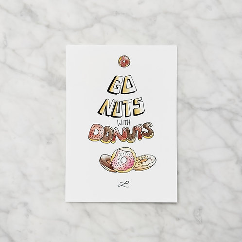 Go nuts with donuts
