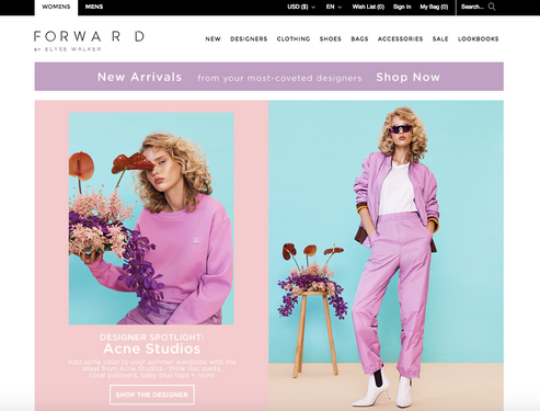 Forward by Elyse Walker Ecommerce