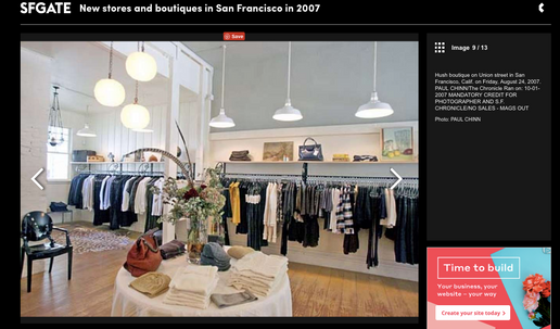Hush San Francisco - SF Gate Best New Boutiques