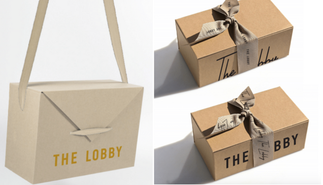 The Lobby Delivery Box/Bag