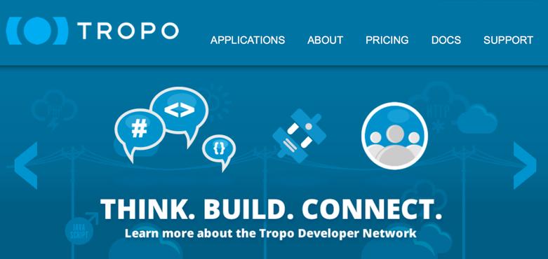 Tropo Website