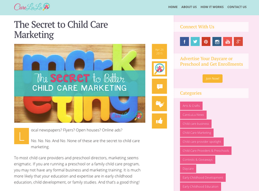 CareLuLu Childcare Provider Blog