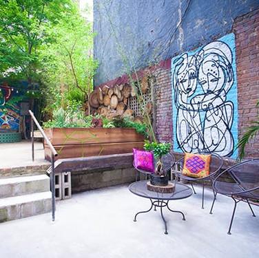 Henley Vaporium Backyard Lounge.
