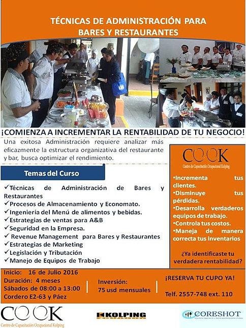 FUNCIONES DE UN ADMINISTRADOR DE RESTAURANTE | Eduardo Michuy ...