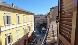 Rooftop view to Piazza del Popolo