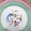 Thumbnail: Plat à tarte «oiseau des îles» Digoin & Sarguemines