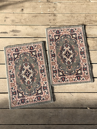 Petit tapis bohème vintage