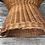 Thumbnail: Fauteuil adulte en osier sur pied