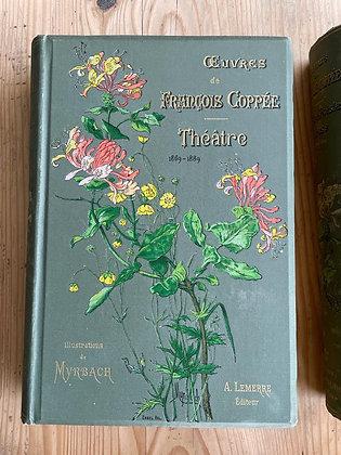 Livre de collection des œuvres complètes de François Coppée