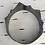 Thumbnail: Couronne artisanale en métal argenté