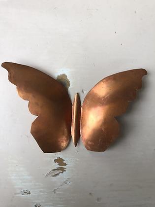 Papillon en cuivre