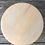 Thumbnail: Tabouret bois clair et patine chanvre