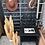 Thumbnail: Table de chevet Peacock noir style bohème