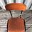 Thumbnail: Chaise d'écolier taille Junior métal noir