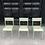 Thumbnail: Chaise scolaire vert & crème