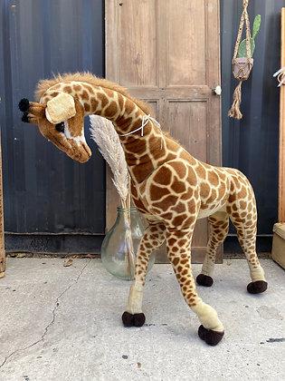 Grande peluche Girafe ancienne taille XXL