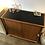 Thumbnail: Buffet vintage portes coulissantes pieds compas