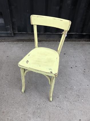 Chaise bistrot jaune Baumann