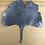 Thumbnail: Feuille de Gingko en zinc XL