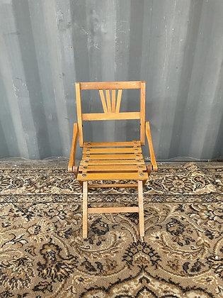 Chaise enfant pliante en bois