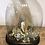 Thumbnail: Globe Napoleon avec sa garniture revisitée version Bohème