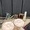 Thumbnail: Lot de 2 assiettes à huîtres Digoin Sarguemines