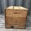 Thumbnail: Caisse en bois persil revisitée en table basse