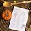 Thumbnail: Calendrier des légumes et fruits de saison - coloris noir & blanc