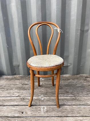 Chaise bistrot en paille