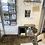 Thumbnail: Ancien Miroir en bois biseauté