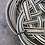 Thumbnail: Corbeille en osier vintage