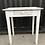Thumbnail: Petite Table / bureau coloris blanc patiné