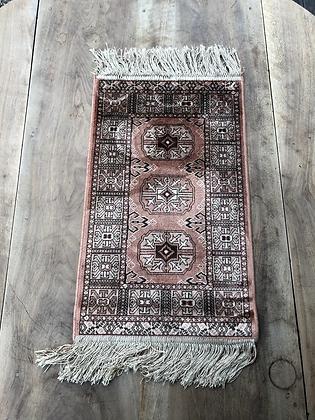 Mini tapis bohème vintage