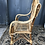 Thumbnail: Chaise enfant en osier et rotin