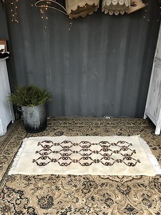 Tapis berbère en laine vintage