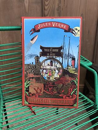 Livre de Jules Vernes «le tour du monde en 80 jours»