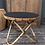 Thumbnail: Table en rotin noir mat