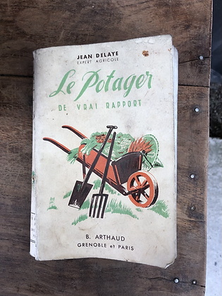 Livre ancien Le Potager de 1942