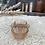 Thumbnail: Saleron ancien en verre moulé rose poudré