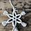 Thumbnail: Étoile à suspendre en macramé fait main