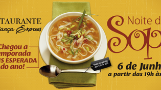 Noite da Sopa - Restaurante Aliança Express