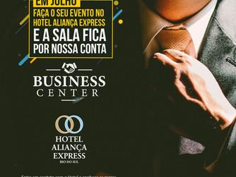 Promoção Especial Business Center - JULHO