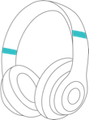 Icon of over-ear headphones that can be used with online emdr therapy